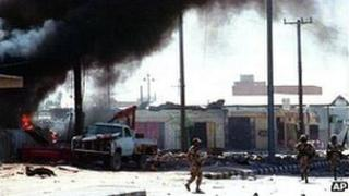 Scud attack on Saudi Arabia, 1991