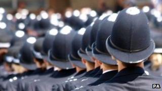 Police parade