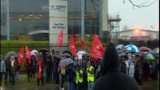 2 Sisters West Bromwich protest