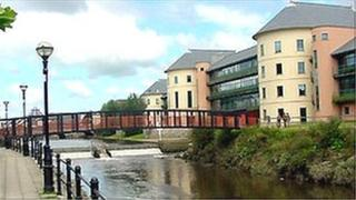 Pembrokeshire council offices in Haverfordwest