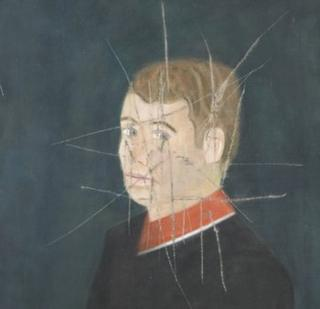 Craigie Aitchison Self portrait