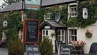The Black Horse in Maesbrook