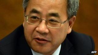 file picture taken on November 9 , 2012, Hu Chunhua,