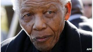 Nelson Mandela in 2010