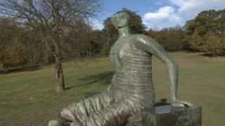 Old Flo, Henry Moore's Draped Seated Woman