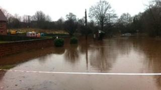 Meaford Road flooding