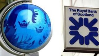 Barclays and RBS logos