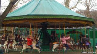 Carousel in the Jardin du Luxembourg