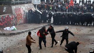 Clashes in Alexandria, 21 December