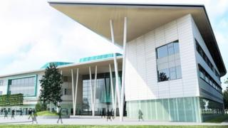 Concept art of new Inverness College UHI