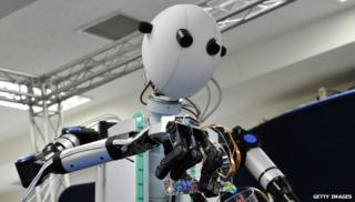 Japanese 'Slave' robot