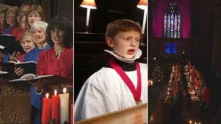 Many people see a visit to church as Christmas tradition