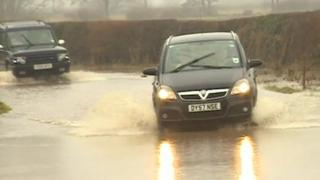 Watery Lane in Scropton