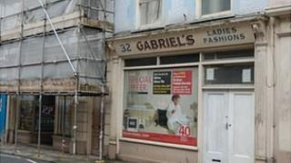 Gabriel's shops in Fountain Street in Guernsey
