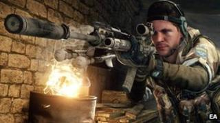Screenshot from Medal of Honor