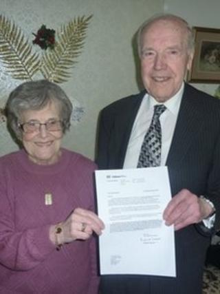 Thomas George Beech with wife Irene