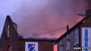 Fire at print works in Barwell
