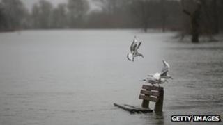 Pangbourne flooding