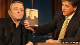 Dennis Lehane and chat show host Craig Ferguson