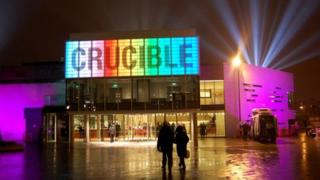 Crucible Theatre on the opening night in February 2010
