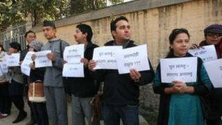 Nepal protests - Photos by Dewan Rai