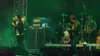 The Charlatans performing at the Guernsey Festival