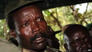LRA leader Joseph Kony (file photo)