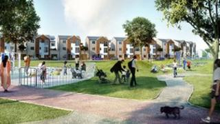 An artist's impression of how the Brunswick will look