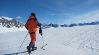 Henry Evans in the Antarctic