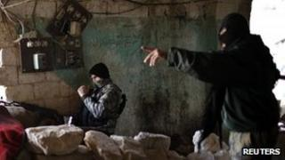Jabhat al-Nusra fighters in Aleppo, Syria. Photo: December 2012