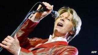 David Bowie in 2002