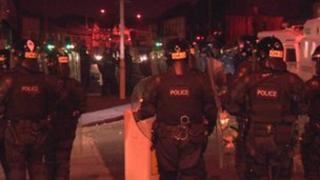 East Belfast riot