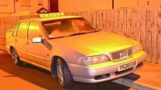 Police are appealing for information about the movements of a taxi
