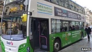 Bath park and ride bus