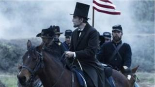Daniel Day-Lewis as US President Abraham Lincoln