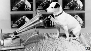 HMV's Nipper dog