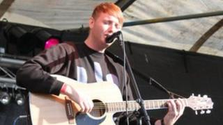 James Arthur at Bishop Auckland College in 2012