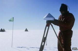 Temperature measurement in West Antarctic, 2005/6