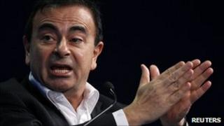 Renault chief executive Carlos Ghosn