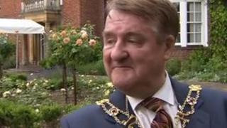 Lord Mayor of Oxford Alan Armitage