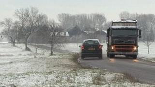 Snow in Cambridgeshire