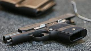 Handgun file picture