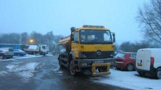 Gritters in Staffordshire