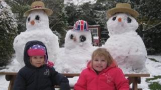 Snow in Boston Spa