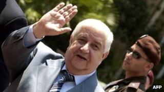 Walid Muallem, file pic from 2006