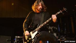 Dave Grohl and The Foo Fighters