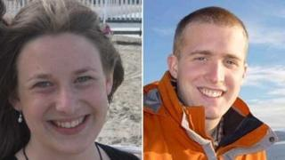 Una Finnegan and Christopher Bell were two of the four climbers who died
