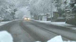 Snow in Roundhay, Leeds