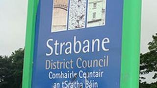 Strabane District Council sign