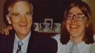 Arthur Brumhill and Sue Blake